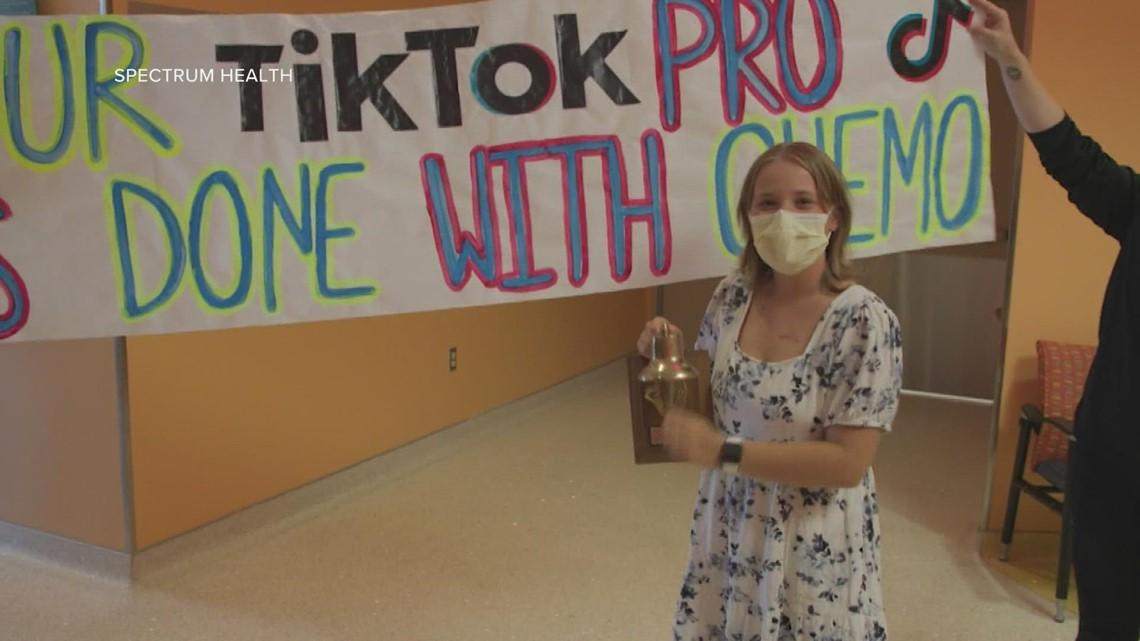 'It's finally here': Berrien Co. teen celebrates winning battle with leukemia