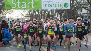 Make Irish Jig 5K your first run of the season and raise awareness for colorectal cancer