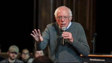 Bernie Sanders says he'll enact national drinking water standards