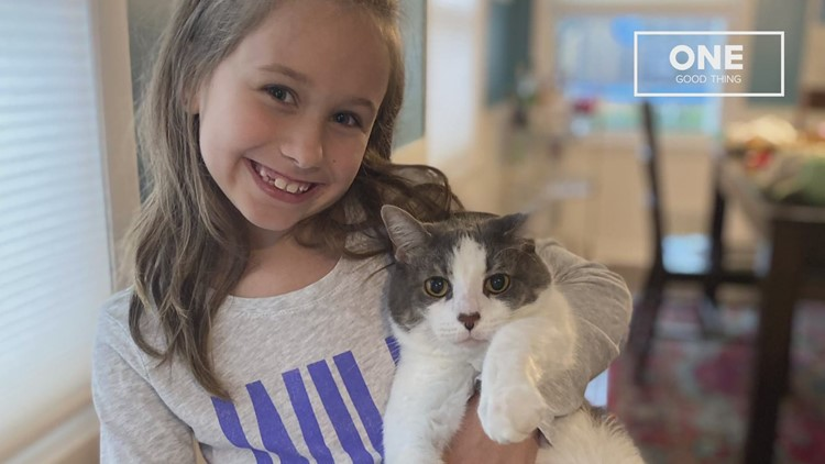 One Good Thing: 9-year-old raises $750 for animal shelter