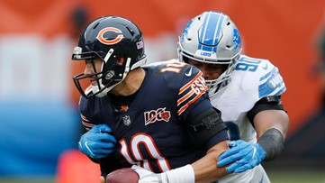 Bears hang on to beat Lions 20-13 as Stafford sits out with injuries