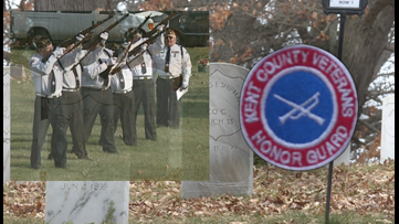 Local honor guard suspends all but graveside services due to pandemic