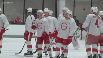 Red Wings wrap up training camp