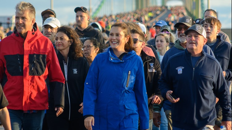 Labor Day walk returns to the Mighty Mac; 21,000 join