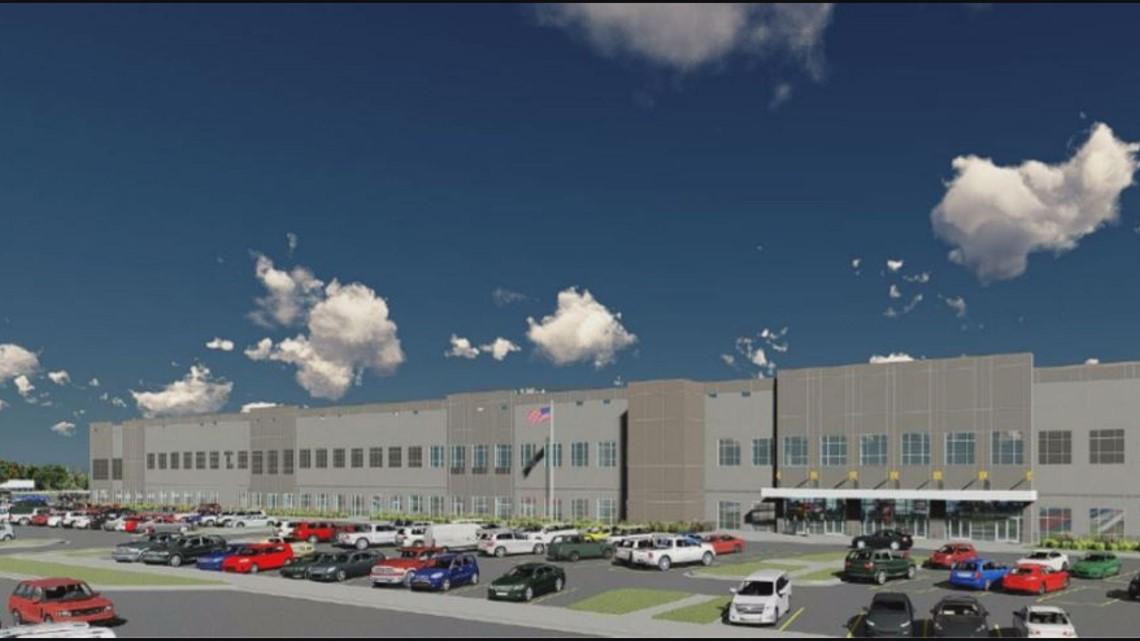 $150-million Amazon Distribution Center To Bring 1,000