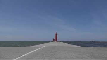 Renovation of Grand Haven's south pier nears completion
