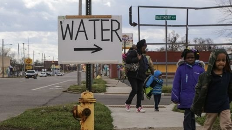 MI says Flint water quality is restored, closes free bottled water sites