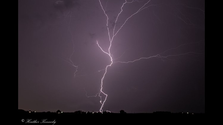 Thunderstorms - August 29, 2020
