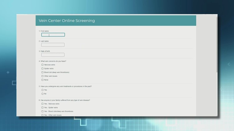 Spectrum Health offers self-screening tool for people with spider or varicose veins