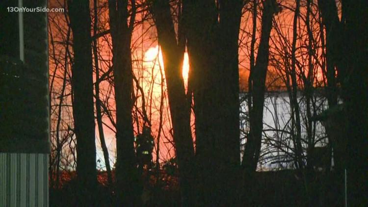 Overnight fire in Rockford