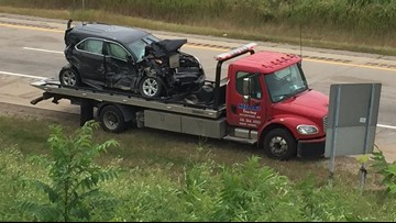Northbound US-131 re-opens after multi-vehicle crash