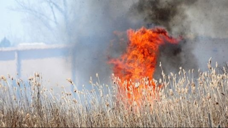 No burning: Critical to extreme fire danger Tuesday