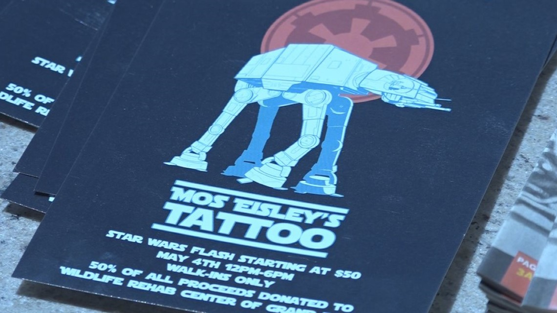 Mos Eisleys Offers May The 4th Be With You Tattoo Promotion