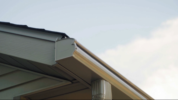 LeafGuard gutter systems