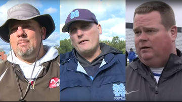 3 local high school coaches nominated for Detroit Lions Coach of the Year