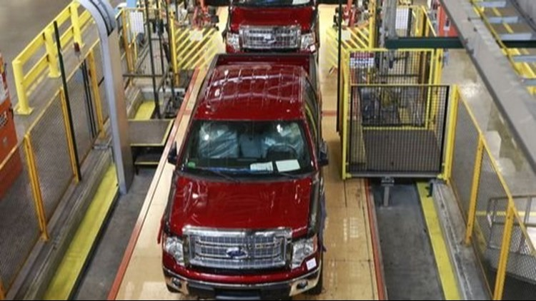 Ford F-150 production slowed by parts shortage due to supplier fire
