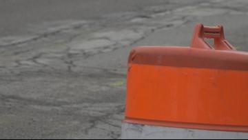 Crash on SB US-131 blocks traffic in construction zone