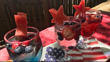 Memorial Day drinks with Chef Char Morse