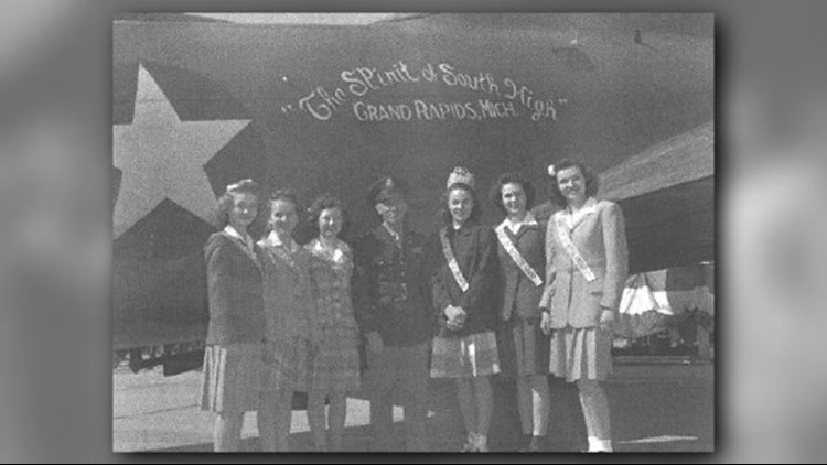1962 Grand Rapids South High graduate Sandra Warren wrote a book about the B-17 purchase. It's enetitled, 'We Bought a WWII Bomber.' The book details how Soth High students raised the funds, and changed the course of history.