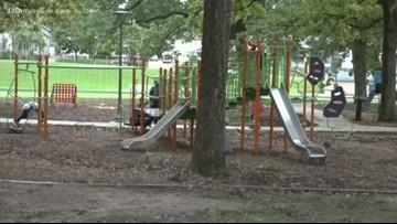 Briggs Park re-opens with playground updates, new pathways