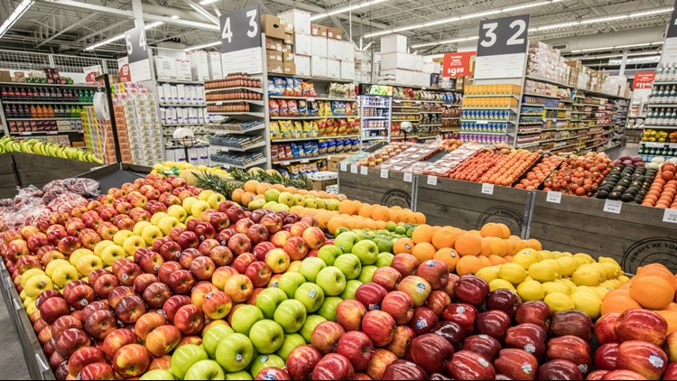 The new city grocery store will open early fall.