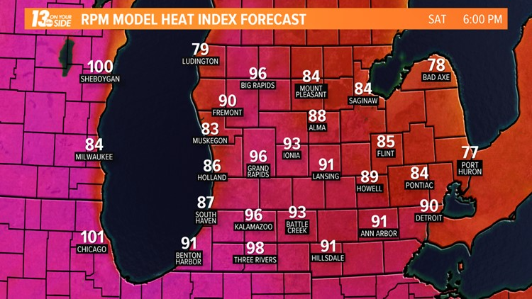 'Excessive' heat wave to hit Chicago in time for Pride Fest weekend