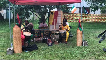 African drum and dance celebrations kick off Juneteenth in Grand Rapids