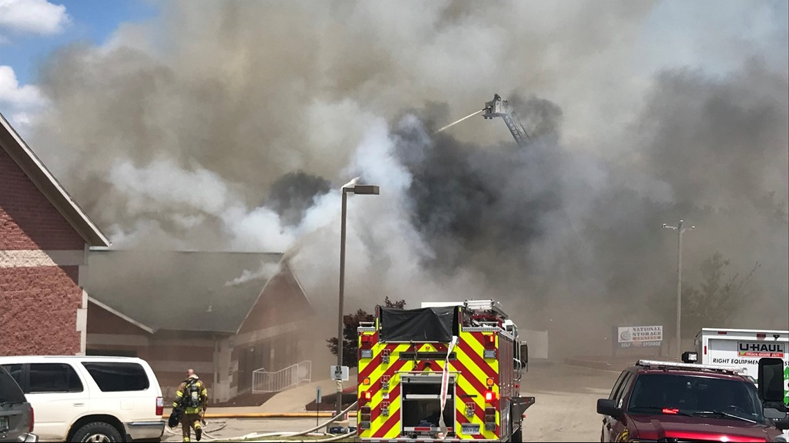 Fire at storage units on Alpine Ave. Previous & Fire at storage units on Alpine Ave. | wzzm13.com