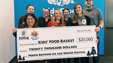 One Good Thing: Perrin's Ice Jam benefits Kids' Food Basket