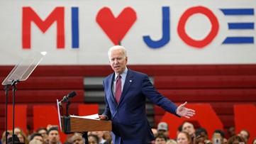 AP: Joe Biden wins the Democratic presidential primary in Michigan