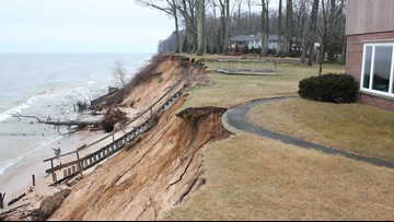 Homeowners continue to battle erosion, lawmaker hopes to help