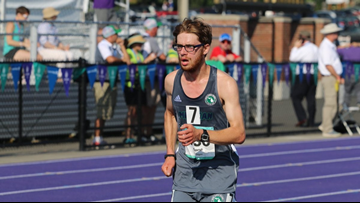 Michigan Special Olympics athlete makes history as first to run in Boston Marathon