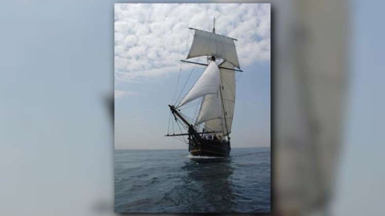 Chase pirates aboard the Friends Good Will in South Haven | wzzm13 com