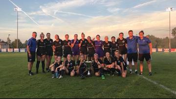GRFC Women win Midwest Region Championship against Lansing