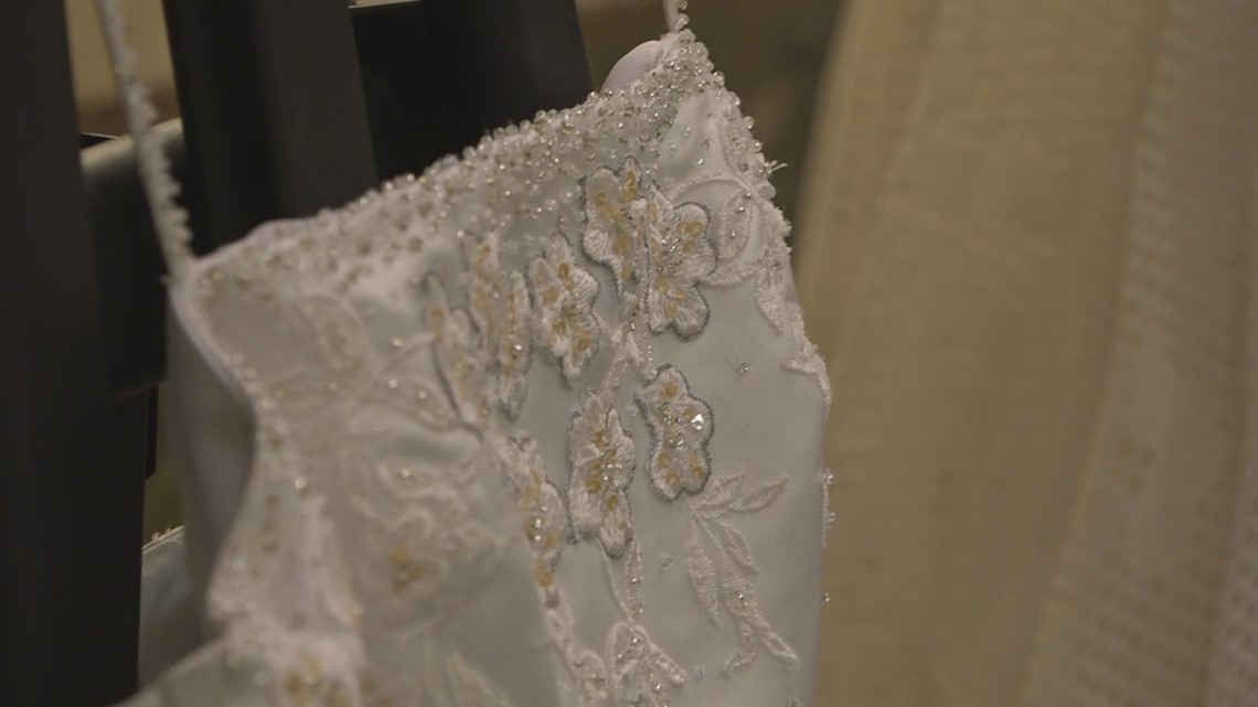 Funeral Home collects wedding dresses to turn into burial gowns for ...