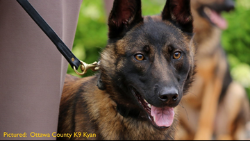 How you can help Ottawa County K9 officers