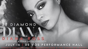CONTEST COMPLETE - Enter to win tickets to see Diana Ross at De Vos Performance Hall!