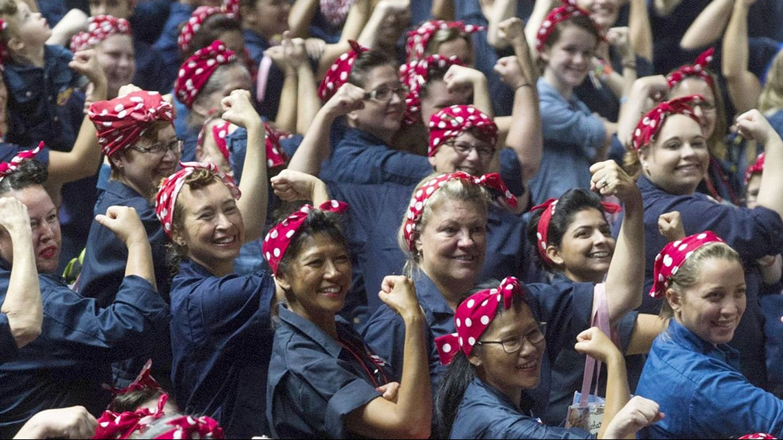 Grand Rapids Gas Prices >> Michigan takes back Rosie the Riveter Guinness record ...
