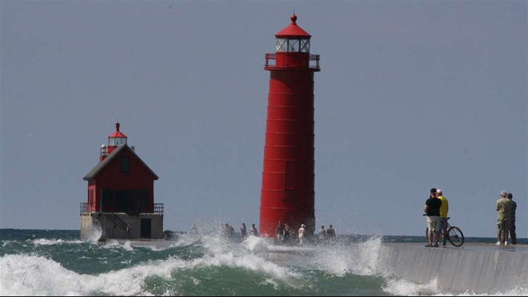 Beach hazards in effect for multiple West Michigan counties over the weekend