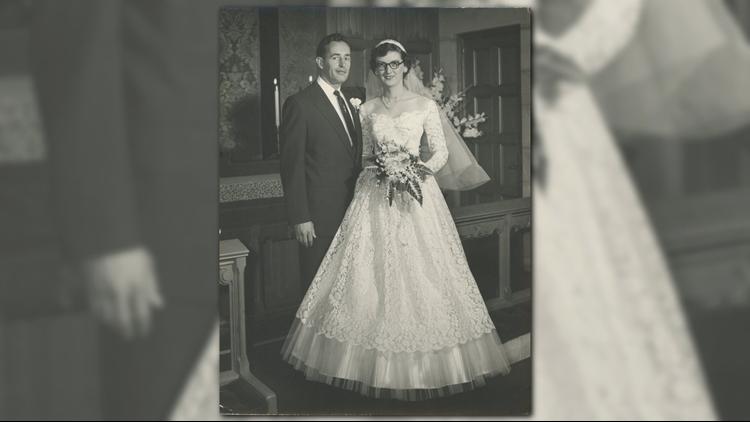 Richard and Helen DeVos on their wedding day