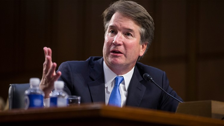 I will not be intimidated, says S/Court nominee Kavanaugh