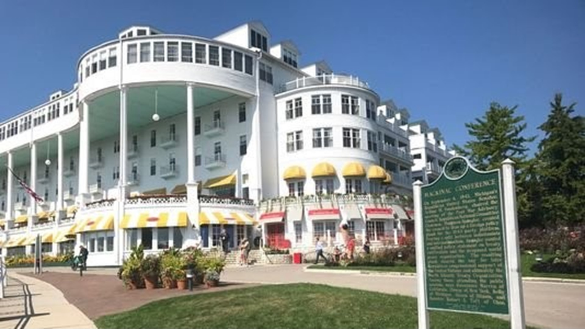 Grand Hotel On Mackinac Island Sold To Private Equity Firm Wzzm13 Com
