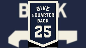 Hospice of Michigan launches 'Give a Quarter Back' fundraising campaign