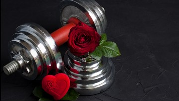 Hit the gym with someone special this Valentine's Day