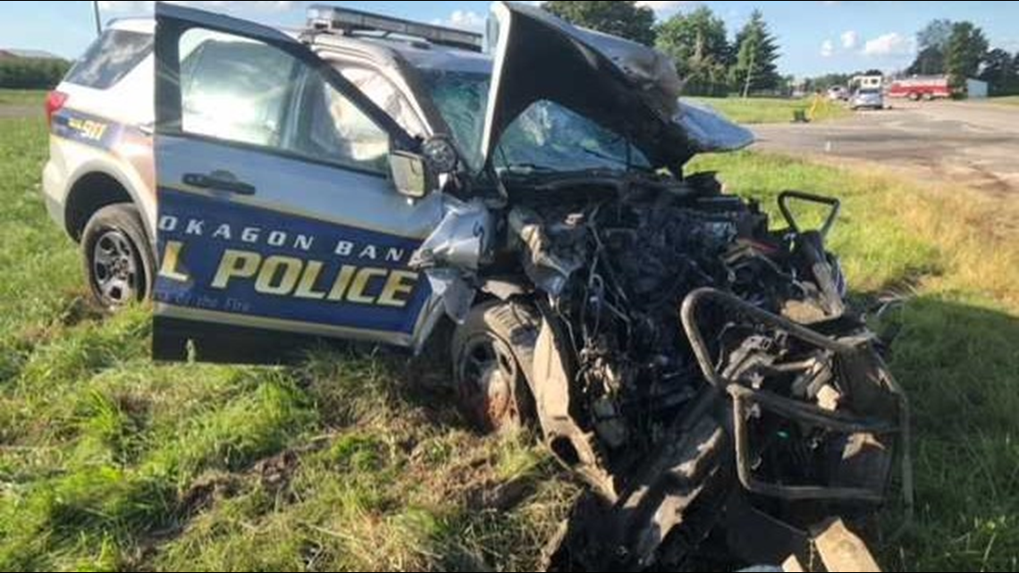 Grand Rapids Gas Prices >> Woman killed in car crash with Pokagon Tribal police ...