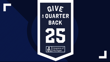 "Hospice of Michigan ""Give a Quarter Back Campaign"" helps make end-of-life care available to all"