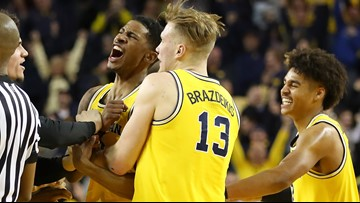 Three Michigan players to declare for early entry in the NBA draft