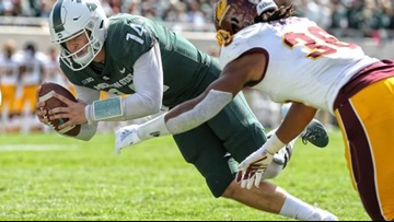 Michigan State football to start QB Brian Lewerke in Redbox Bowl