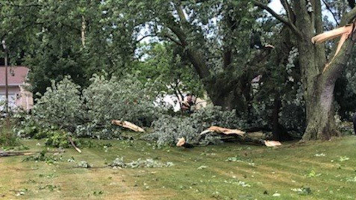 Photos: Severe Weather Hits West Michigan