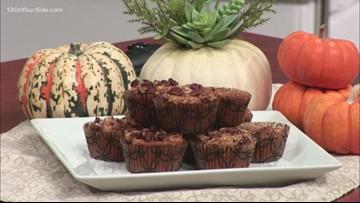 Tasty gluten, dairy-free pumpkin muffins